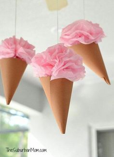 Los conos de papel son perfectos para entregar obsequios, souvenirs y pequeños detalles durante una fiesta. Además, también puedes usarlos ...