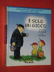 """PORTA PORTESE FUMETTI Domenica 23 Luglio 2017. Come noto, Charles M. Schulz è per tutti il creatore dei Peanuts. Ebbene, dopo aver esordito con tali """"strisce"""", divenute presto celeberrime, il Cartoonist decise di dare corso anche a una nuova serie di fumetti: """"It's Only A Game"""", che in verità circolò pochissimo, tra il 1957 e il 1959, rimanendo pressoché sconosciuta. In Italia, """"Solo un gioco"""", venne pubblicato per la prima volta soltanto nel 2005, per opera di Free Books Srl"""