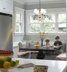 Superieur Making Unusual Color Choices Work | Kitchen Breakfast Nooks, Banquette  Seating And Banquettes