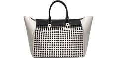 CH Carolina Herrera bag, $2,235, 310-276-8900.    - HarpersBAZAAR.com