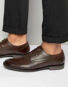 Buy Base London Bayham Leather Derby Shoes at ASOS. Get the latest trends with ASOS now. Asos Online Shopping, Online Shopping Clothes, Beatle Boots, Walks In London, Carnaby Street, Burton Menswear, Clarks Originals, Derby Shoes, Toe Shape