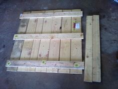 Pallet to shop step stool