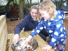 Our outdoor mud kitchen