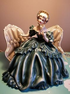 ~ Florence Ceramic Figurine Vintage ~ ebay.com