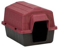 Dosckocil (Petmate) DDS25118 Barnhome III Dog House, X-Small, Samba Red/Black