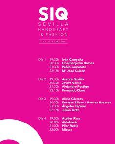 Buenos días! Esta semana estaremos en SIQ Sevilla Handcraft & Fashion y os lo contaremos todo en nuestras redes no os lo perdáis  #tdsmoda #modadesevilla #igerssevilla #sevillahoy