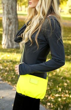 Going neon with Marc by Marc Jacobs.