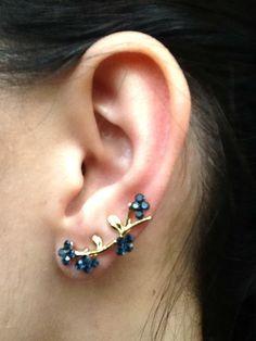 Ear Cuff Florzinhas