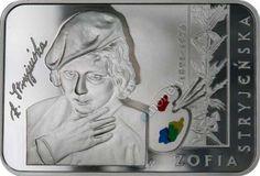 Sławni ludzie na monetach: Zofia Stryjeńska