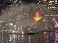 Fire Bird Laser Show