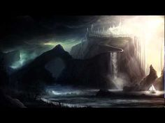 20 Magnificent Dark Fantasy (Landscape) Digital Painting for Your Inspiration Fantasy Places, Fantasy World, Dark Fantasy, Dragons, Dark Mountains, Dark Castle, Digital Art Fantasy, Fantasy Artwork, Fantasy Castle