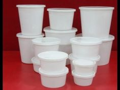 Jay Plastics manufacture high-quality plastics cans with the best raw material. The products are very reliable and affordable to buy. You can directly contact the company by dialing this Number: in Reuse, Upcycle, Plastic Raw Material, Types Of Plastics, Plastic Containers, Raw Materials, Recycled Crafts, Diy Doll, Learn To Crochet