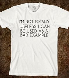 TOTALLY USELESS - glamfoxx.com - Skreened T-shirts, Organic Shirts, Hoodies, Kids Tees, Baby One-Pieces and Tote Bags