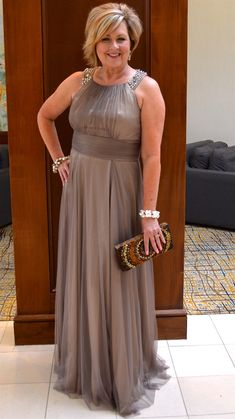 But with wedding season fast approaching, I thought some of you might… Old Lady Dress, I Dress, Mother Of Groom Dresses, Bride Groom Dress, Formal Dresses For Women, Formal Gowns, 50 Is Not Old, Old Dresses, Fashion Over 50