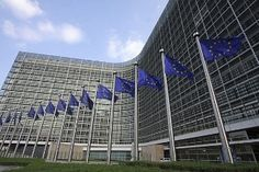 Photo about European flags in front of the European Commission Berlaymont building in Brussels, Belgium. Image of gray, building, silver - 9050410 Air France, Position Paper, European Flags, Union Européenne, Netherlands, Britain, Skyscraper, Greece, Louvre