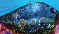 """Confira o teaser e o cartaz nacional da animação """"Os Smurfs"""""""