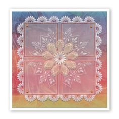Framework Squares A4 Square Groovi Plate Clarity Card, Vellum Crafts, Parchment Cards, Butterfly Template, Shabby Chic Christmas, Silk Ribbon Embroidery, Card Patterns, Pop Up Cards, Paper Cards