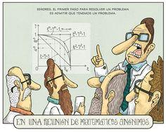 En un reunión de matemáticos anónimos!