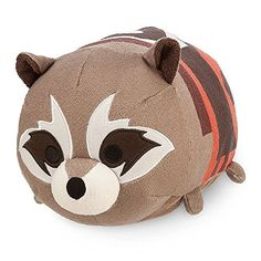 "#mediumtsumtsum Guardians of the Galaxy 11"" Medium Rocket Raccoon Tsum Tsum Plush #tsumtsumplush"