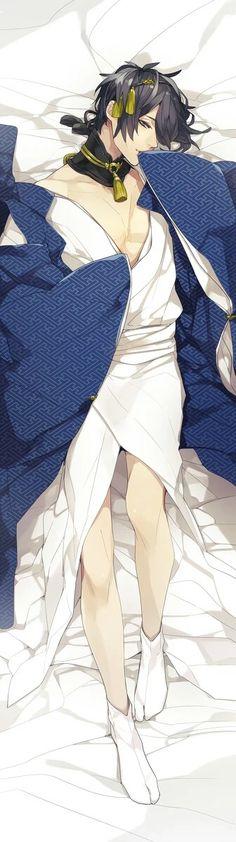 Hot Anime Boy, Anime Boys, Touken Ranbu Mikazuki, Character Art, Character Design, Anime People, Bishounen, Manga Comics, Male Beauty