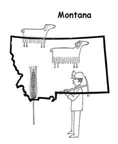 Ohio State Drawings Free State Maps Massachusetts South Dakota