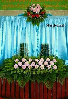 Casket Flowers, Altar Flowers, Church Flowers, Wedding Table Flowers, Funeral Flowers, Hotel Flower Arrangements, Ikebana Flower Arrangement, Flower Centerpieces, Diy Wedding Wreath