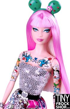Barbie Tokidoki Pink 2015 Doll - Black Label NIB! $128 via @shopseen