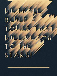 NEOPOLIS type design | Designer: Atelier Olschinsky - http://www.behance.net/olschinsky