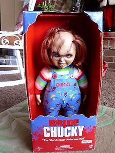 My Custom Tiffany Doll Bride Of Chucky I Used The
