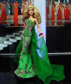 Miss West Virginia Barbie Doll 2013