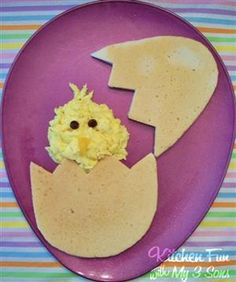 Easter Chick Pancake Breakfast
