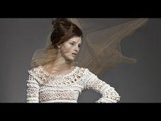 Платье Оливия крючком. Часть 9 Окат под кокетку
