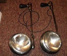 LOT-OF-2-VINTAGE-UNITY-MODEL-S6-SPOTLIGHTS-CAR-TRUCK-POLICE