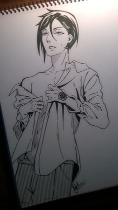 MUSIC!!!! I'm finally done! :D This one's for you~ sure hope this Sebastian will suit your taste ;))