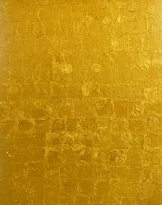 amare-habeo:  Yves Klein (French,1928 –1962) MG 28, 1960  Gold leaf on canvas on plywood