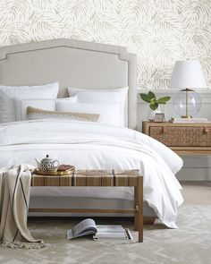 Pottery Barn Master Bed Home Decor Headboards For Beds