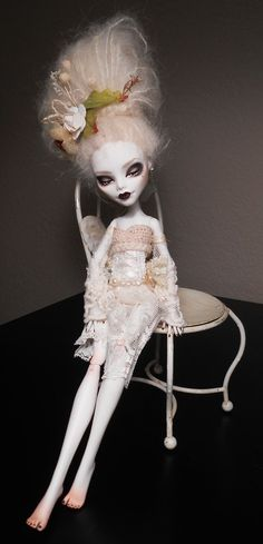 C A Cupid Custom Monster High Doll Made to Order INFO IN by KaylaKnadleArt