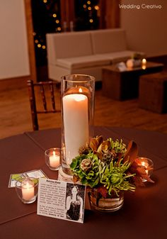 Set up a table with a picture, candles, and something personal that is a reminder of them Centerpiece Decorations, Flower Centerpieces, Table Centerpieces, Centrepieces, Funeral Reception, Reception Table, Rose House, Memory Table, All Souls Day