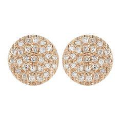 Dana Rebecca Designs Lauren Joy Medium Stud Earrings (13.815 ARS) ❤ liked on Polyvore featuring jewelry, earrings, 14 karat gold earrings, 14k earrings, 14k stud earrings, 14k jewelry and stud earrings