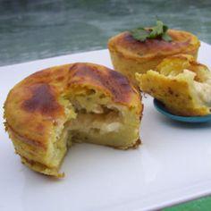 Légèreté & Gourmandises: Moelleux courgettes au coeur de fromage (2 PP)