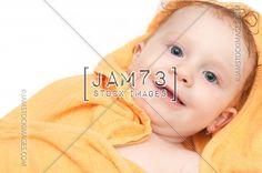 Baby After Bath  | Stock Royalty Free Image