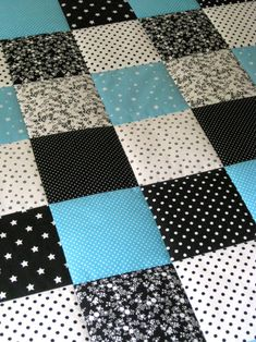Patchwork Quilt Patterns, Quilt Patterns Free, Cute Quilts, Easy Quilts, Postage Stamp Quilt, Long Arm Quilting Machine, Plaid Quilt, Baby Boy Quilts, Baby Embroidery