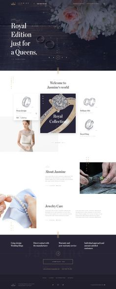 Jewelry Store - Web Design