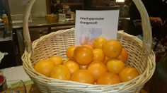 fresh orange juice in Innsbruck`s #Delight Restaurant, Innrain 133 - Medicent