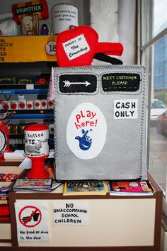 The 'Cornershop' by Lucy Sparrow was an installation corner-shop entirely made from felt