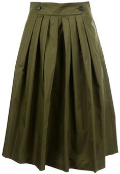 Love this: Pleated Skirt @Lyst