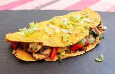 Vegan Omelet - Tasty Vegan Life