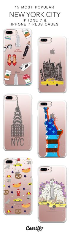 15 Most Popular New York City Protective iPhone 7 Cases and iPhone 7 Plus Cases. More USA Urbans iPhone case here > https://www.casetify.com/collections/top_100_designs#/?vc=b3vBG4qUg6
