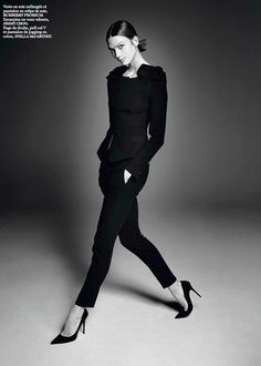 Karlie Kloss by David Sims for Vogue Paris March 2014 | The Fashionography
