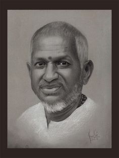 The Greatest music composer of India. White and black charcoal pencil on tinted sheet. 80s Songs, Charcoal Art, Portrait Pictures, Celebrity Drawings, Music Composers, Pencil Art, Singers, Celebs, Posters